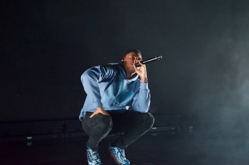 Photos] Smile, You're Literally On Camera At Vince Staples